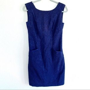 Plenty Tracy Reese Brocade Sleeveless Shift Dress